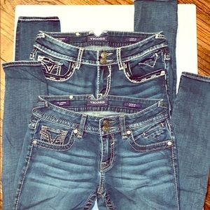 Bundle (2) pairs of jeans